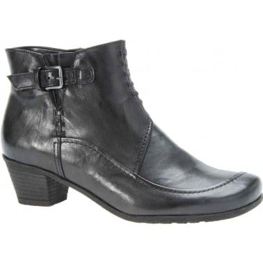 Ultimate Black Leather Ankle Boots