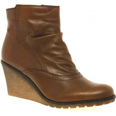 Knight Womens Wedge Heeled Boots