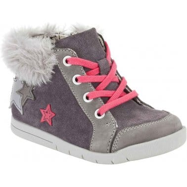 Crazy Cake Infant Girls Lace Up Boots
