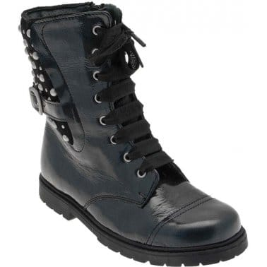 Rockstar Girls Lace Up Boots