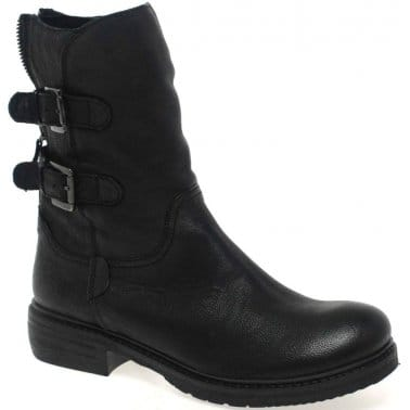 Northside Womens Calf Length Leather Boots