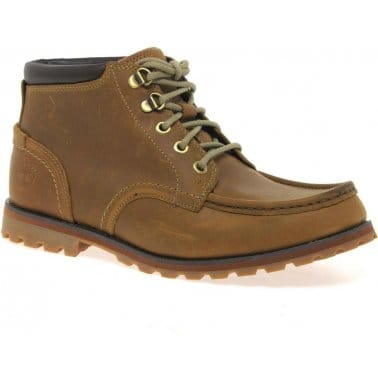 Bar Chukka Mens Lace Up Boots