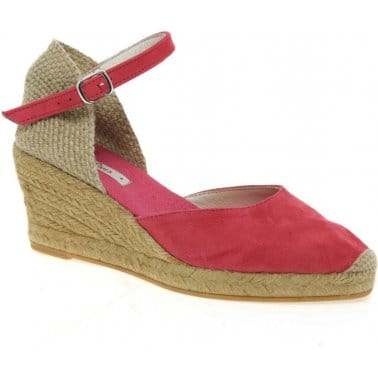 Lloret Ladies Wedge Heeled Espadrilles