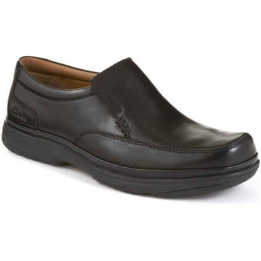 Swift Step Mens Leather Casual Shoes