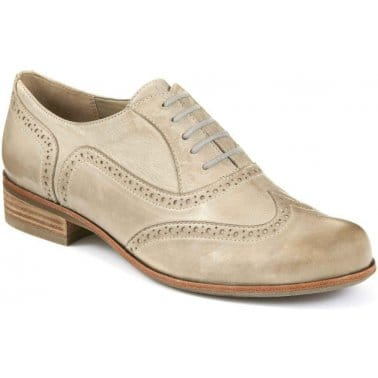 Clarks Hamble Oak Stone Leather Womens Brogues