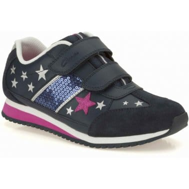 Super Glitz Junior Girls Trainers