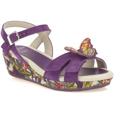 Clarks Harpy Fly Girls Sandals