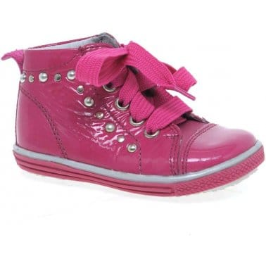 Richter Pretty Bow Infant Girls Boots