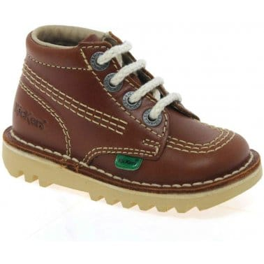 Kickers Chi Infant Boys Lace Up Boots