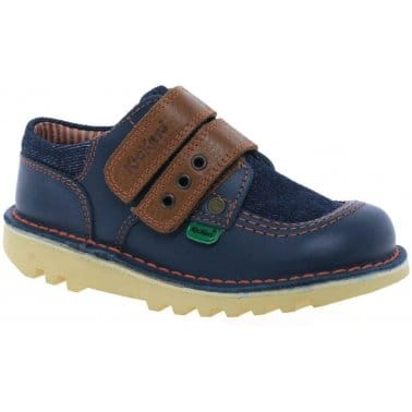 Kickers J Strap Infant Boys Shoes