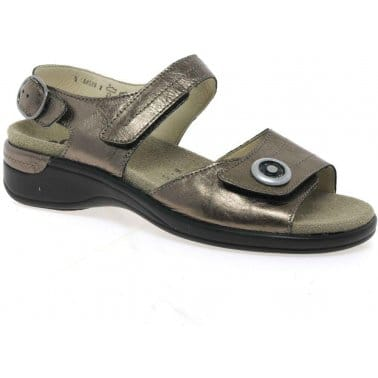 Disc Classic Leather Ladies Sandals