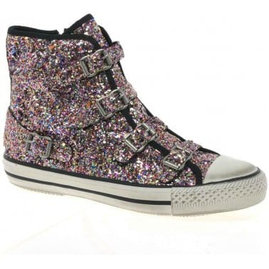 Fanta Ter Youth Glitter Girls Ankle Boots