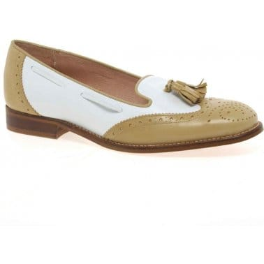 Valencia Womens Leather Loafers