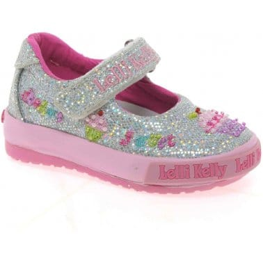 Lelli Kelly Elsie B Dolly Girls Canvas Shoes