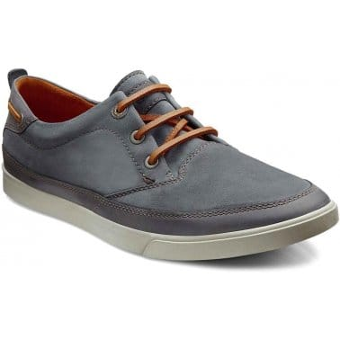 Collin Mens Leather Lace Up Shoes