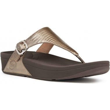 The Skinny Womens Toe Post Sandals