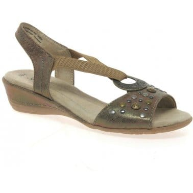 Imagery Womens Wide Fit Casual Sandals