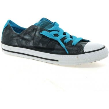 All Star Party Oxford Youth Girls Canvas Shoes
