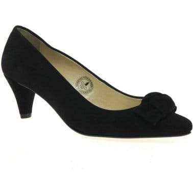 Twyford Womens Suede Court Shoes