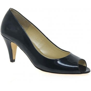 Holkham Womens Open Toe Court Shoes