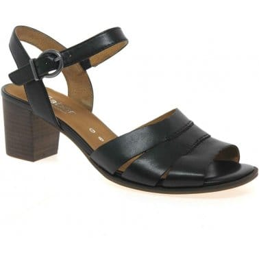 Finch Leather Buckle Fastening Sandals