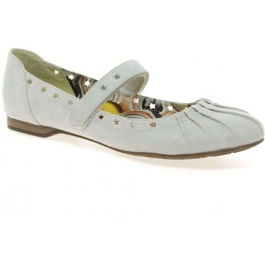 Pleat Girls Casual Shoes