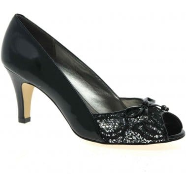 Lotus Nicoletta Womens Peep Toe Court Shoes