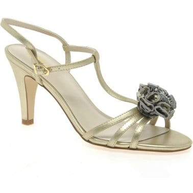 Lotus Georgia Slingback Evening Sandals