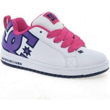 DC Shoes DC Court Graffik SE Girls Skate Shoes