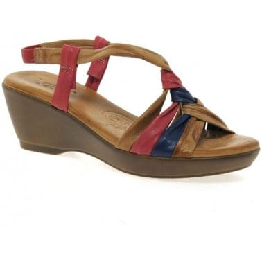 Lotus Barcelona Womens Casual Leather Sandals