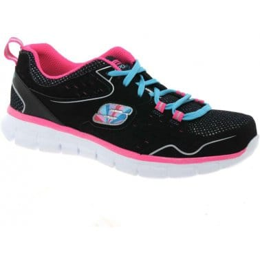 Synergy Alistair Girls Mesh Trainers