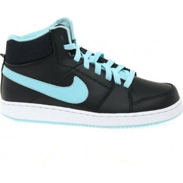 Nike Backboard Hi Top Girls Lace Up Sports Shoes