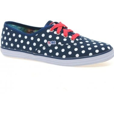 Dizzy Dots Girls Canvas Shoes