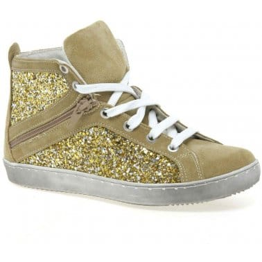 Sparkle Hi Junior Girls Ankle Boots