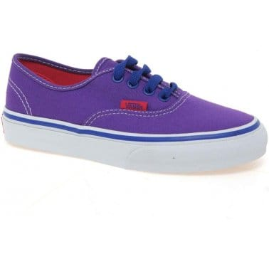 Vans Authentic Junior Girls Canvas Shoes