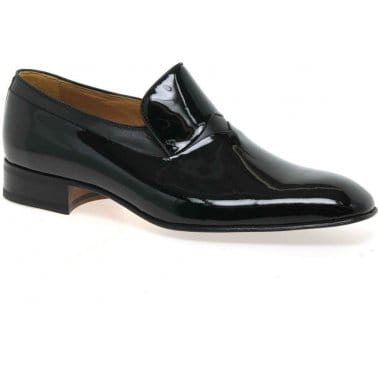 Murcia Patent Leather Slip On Mens Shoes
