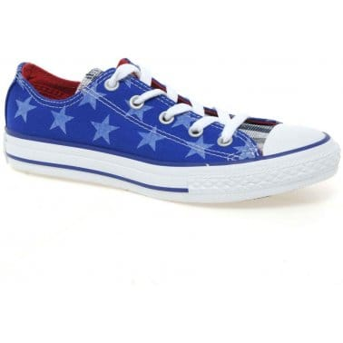 Allstar Oxford Junior Star Print Canvas Sneakers