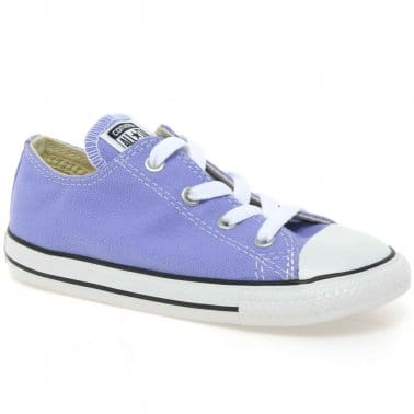 All Star Oxford Infant Girls Canvas Shoes