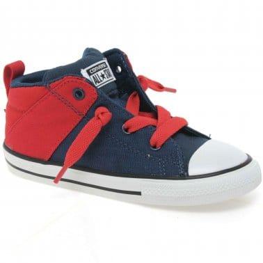 Axel Hi Toddler Boys Canvas Shoes