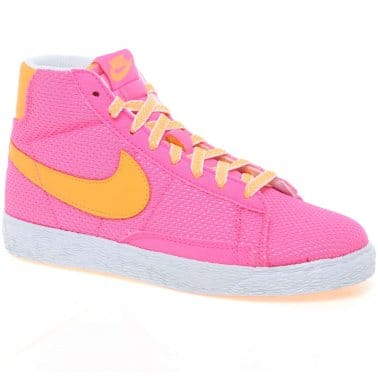 Blazer Girls Hi Top Trainers