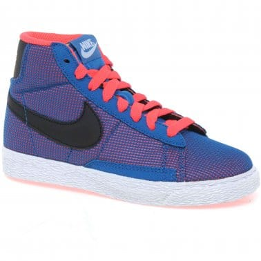 Blazer Youth Boys Hi Top Trainers