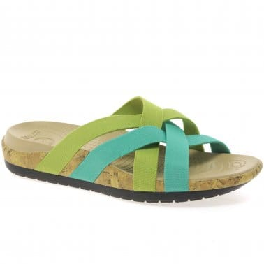 Edie Stretch Womens Casual Sandals
