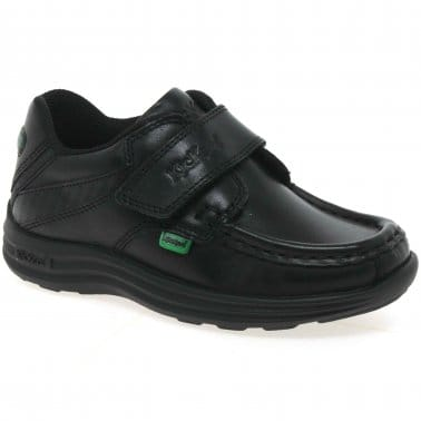 Reasan Strap Infant Boys School Shoes