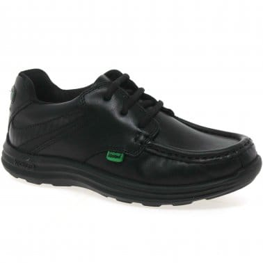 Reasan Lace Youth Boys School Shoes