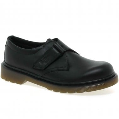 Jerry Strap Junior Boys School Shoes
