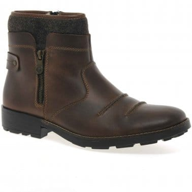 Cuff Mens Casual Boots