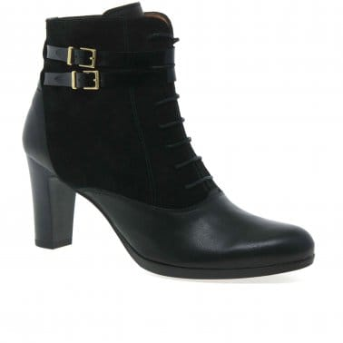 Rome Womens Lace Up Ankle Boots