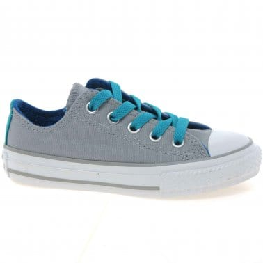 All Star Double Tongue Girls Canvas Shoes