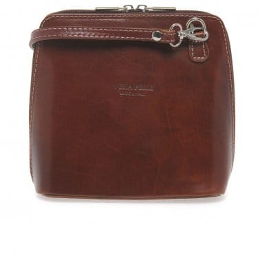 Taylor Ladies' Small Leather Messenger Bag