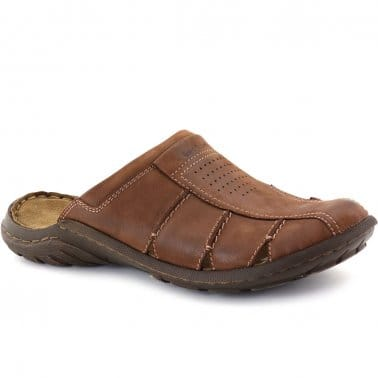 Logan Closed Mens Mules